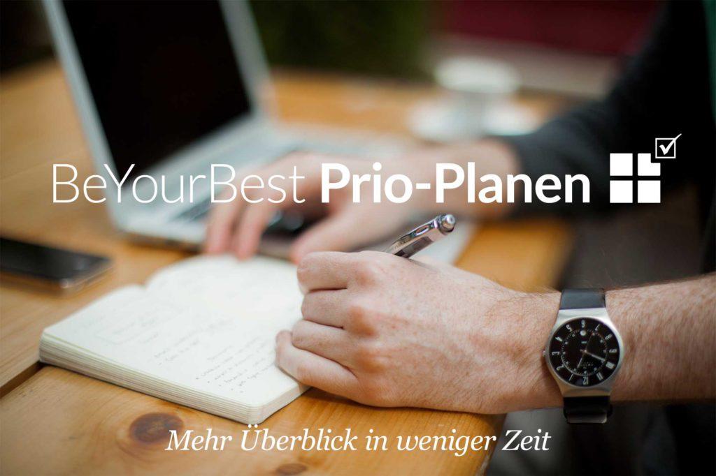 BeYourBest Prio-Planen