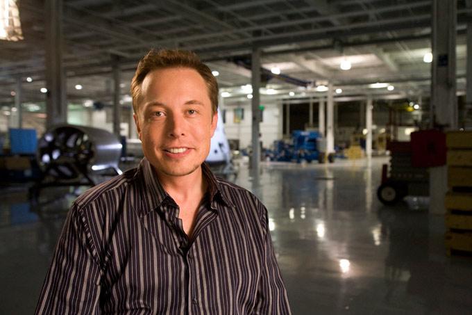 Portät Elon Musk