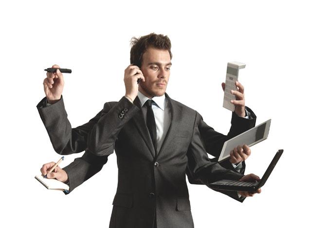 Multitasking Zeitmanagement Produktivität